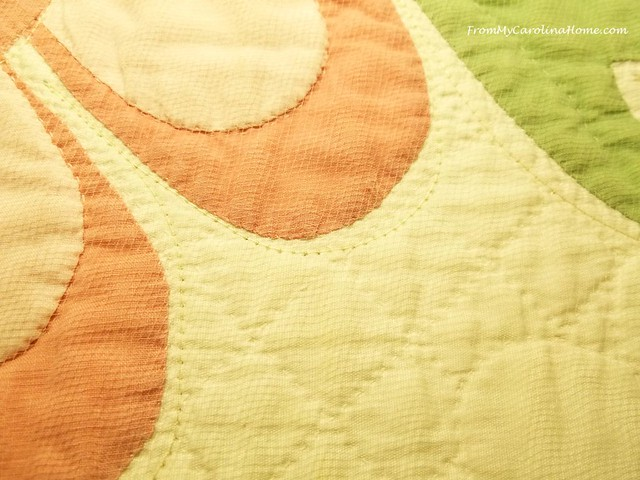 Applique Quilt Repair at From My Carolina Home