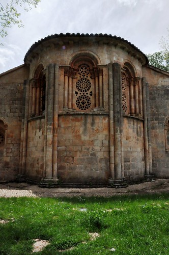 Albendiego (Guadalajara-España). Iglesia. Cabecera. Ábside