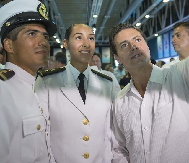 Ceremonia Oficial Conmemorativa por el Día de la Marina Nacional