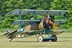 Fokker Dr.I Dreidecker / Private / G-CDXR | 403/17 - Photo of Itteville