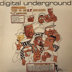 DIGITAL UNDERGROUND:THIS IS AN E.P. RELEASE(JACKET A)