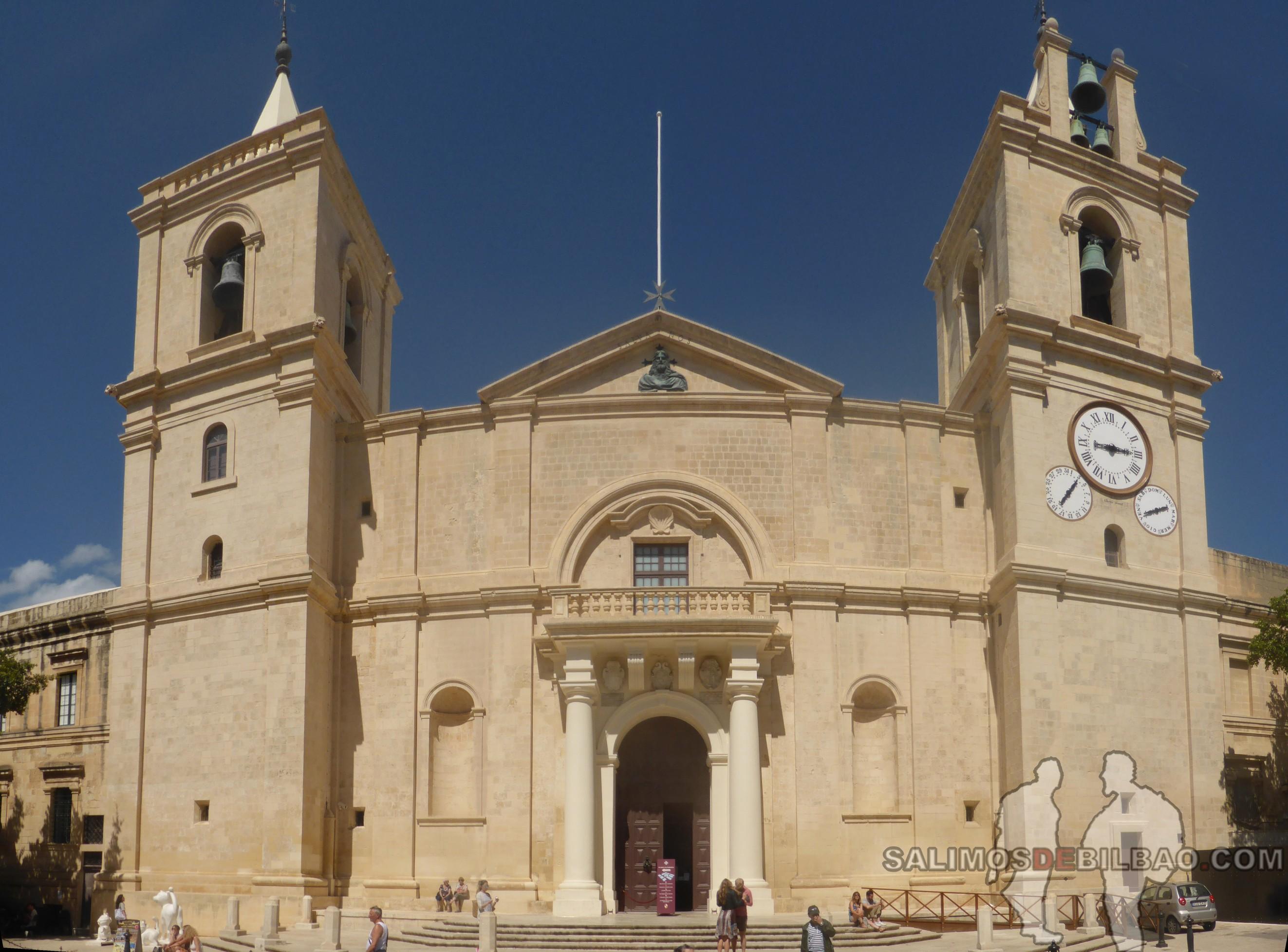 0623. Pano, ConCatedral, La Valeta, Malta