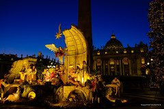 Nativity scene in St. Peter's Square