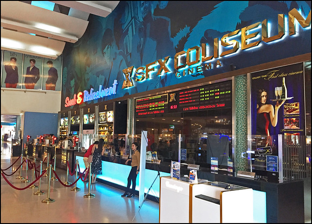 SFX Multiscreen Cinema at Central Festival Mall in Phuket
