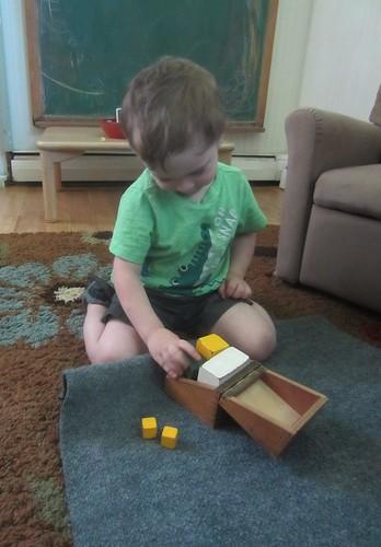 small block puzzle box