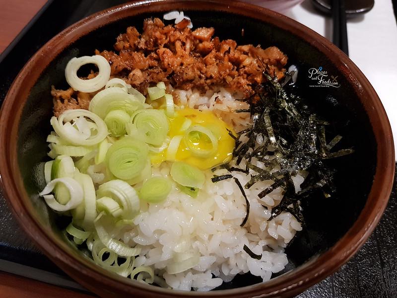 aori ramen malaysia TKG rice