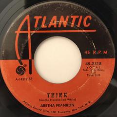 ARETHA FRANKLIN:THINK(LABEL SIDE-A)