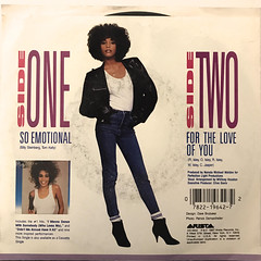 WHITNEY HOUSTON:SO EMOTIONAL(JACKET B)