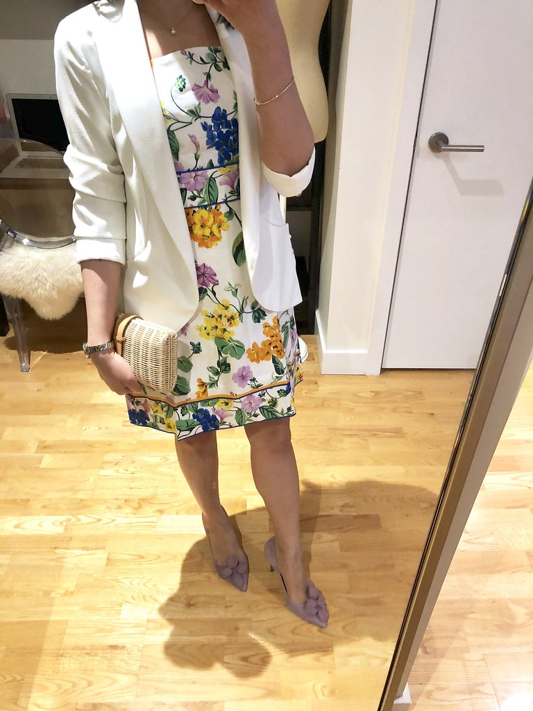 Ann Taylor Vintage Floral Sheath Dress, size 0P