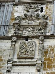 Domart-en-Ponthieu : Eglise (détail clocher) (2)