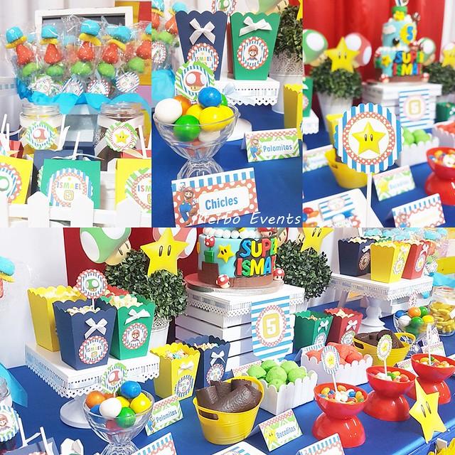 Decoracion Mesa dulce Merbo Events