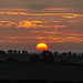 Sunset at Wilbarston