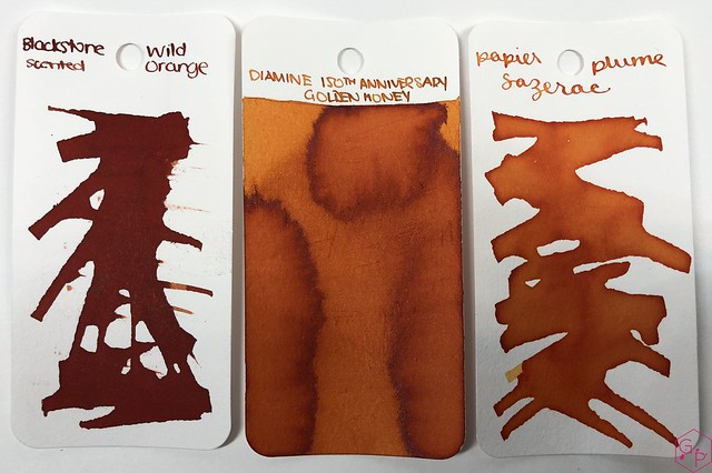 Blackstone Wild Orange Ink Review @Appelboom 1