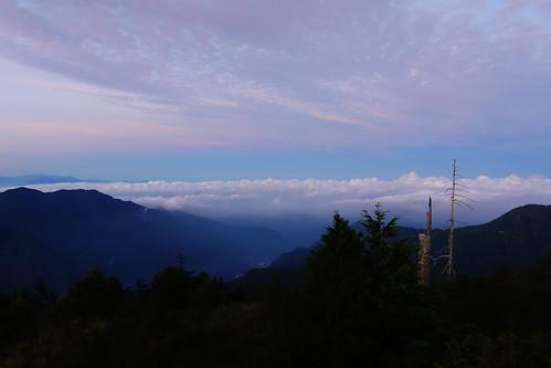 大雪山日出