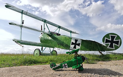 Fokker DrI 525/17 / Private / F-AZVD