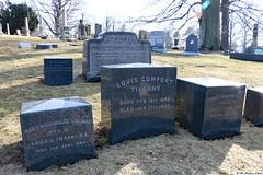 Louis Comfort Tiffany's grave
