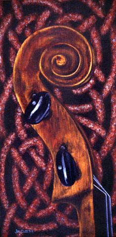 Celtic Fiddle Series No. 4. Artist Jan Clizer