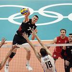 Gord Perrin at Olympics (FIVB)
