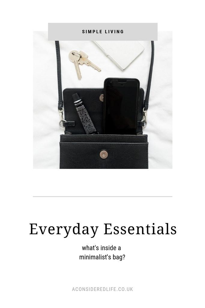 A Minimalist's Bag With Matt & Nat