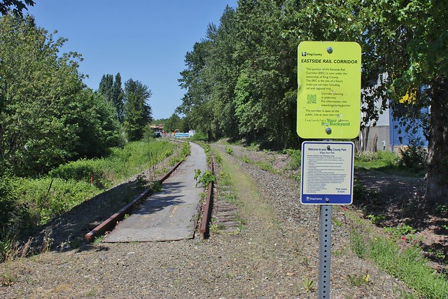 Eastside Rail Corridor in Bellevue