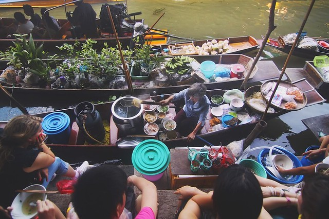 Mekong Delta floating market Vietnam