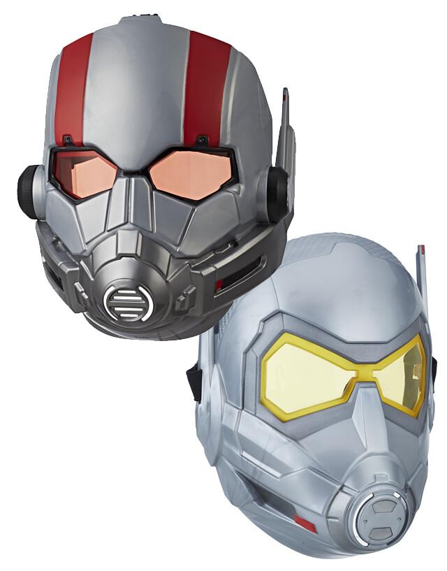 變身成英雄的時刻到啦!! 孩之寶《蟻人與黃蜂女》12吋泰坦英雄人偶 & 蟻人、黃蜂女面具