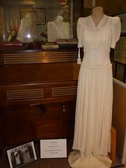 Jean Davies wedding gown 1945