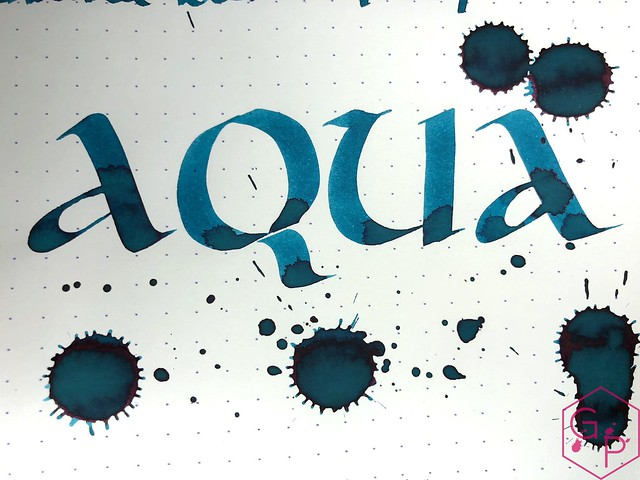 Robert Oster Aqua Ink Review @PhidonPens 13