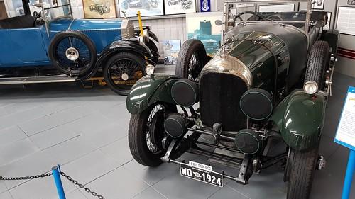 Bentley 1924 at WA Motor Museum at Whiteman Park.