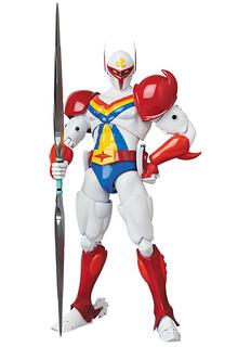嶄新MEGA HERO可動系列 首波將以 《宇宙騎士》Tekkaman 登場!テッカマン