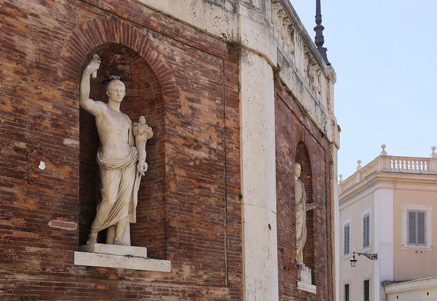 Statue of Gaius Caesar, grandson of Augustus the first Emperor of the Roman Empire