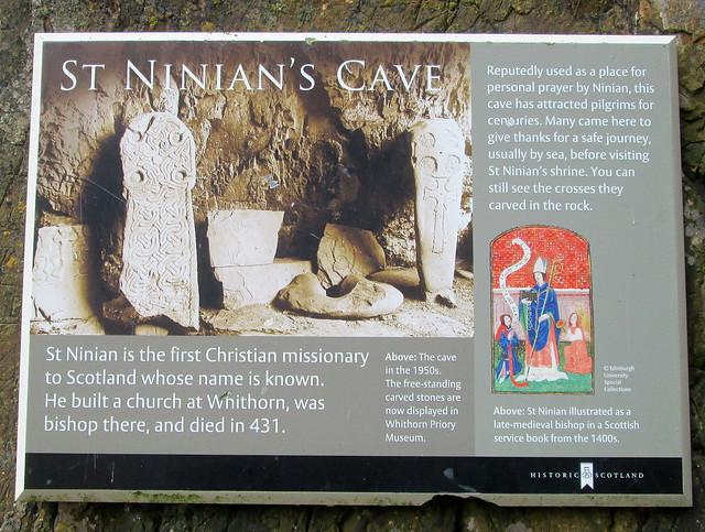 St Ninian's info board
