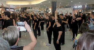 Flashmob de la Escuela de ARTES para personas con discapacidad
