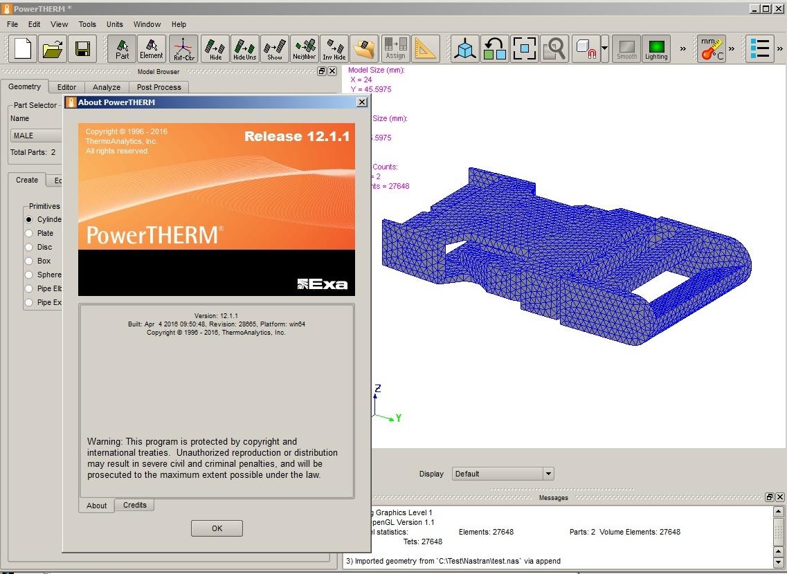 Working with Exa PowerFLOW 5.3c - powerTHERM 12.1.1 full license