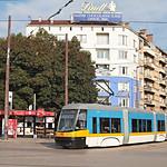 Sofia Tram Nr. 2316 Bulevard Vitosha
