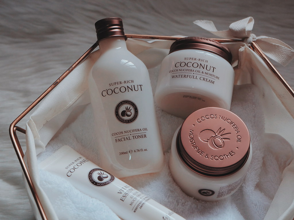 Esfolio Korea Products Review: Super Rich Coconut Set