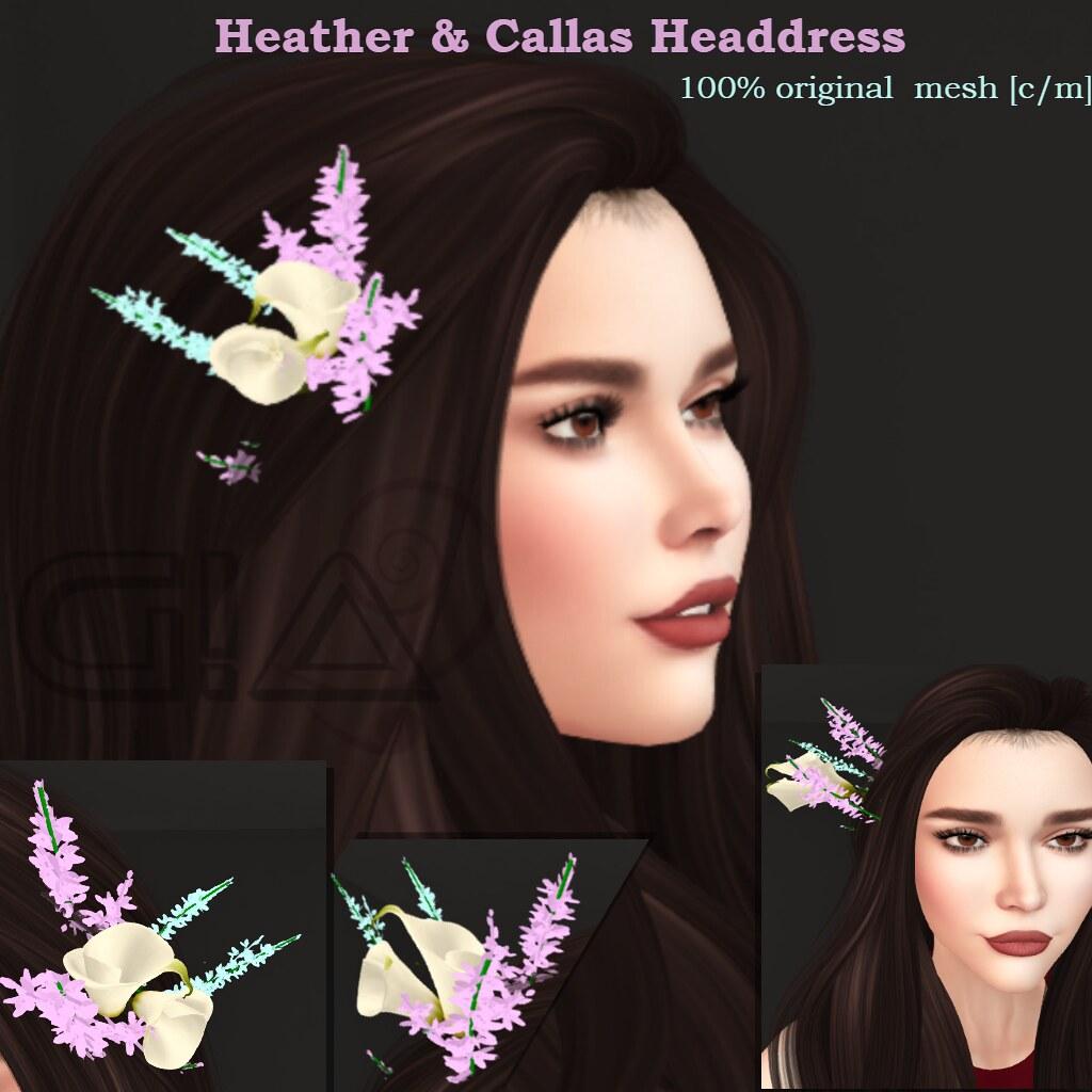 Heather and Callas Headdress Vendor