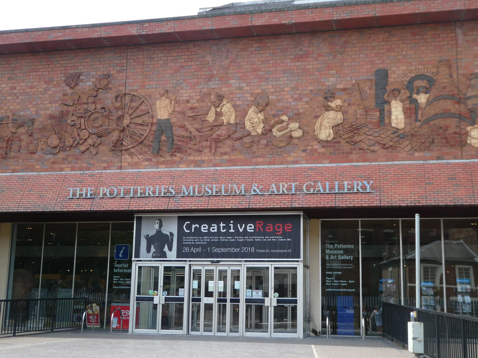 The Potteries Museum & Art Gallery, Hanley, Stoke-on-Trent