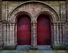 Doors of St Mary's Tower, Dundee