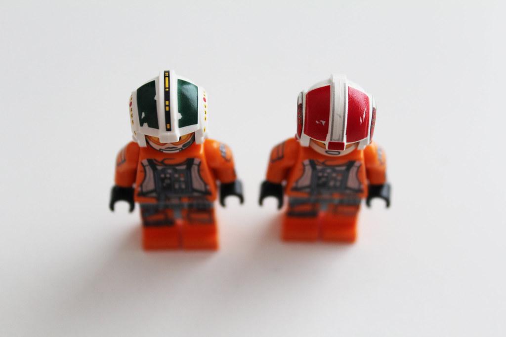 Lego Rebel Pilot Helmet Print