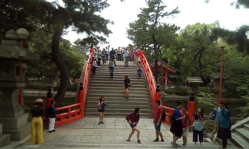 Sumiyoshi Taisha, Sorihashi Bridge, Osaka