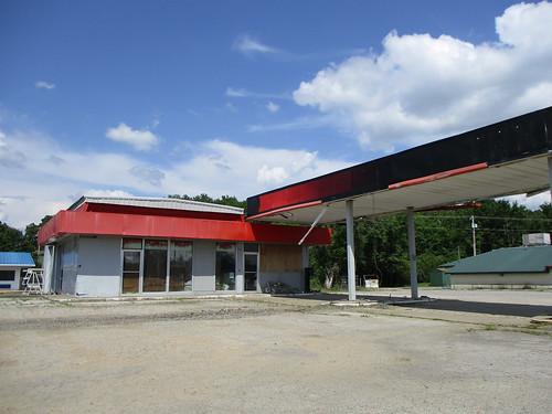Texaco Gas Station Sallisaw,OK