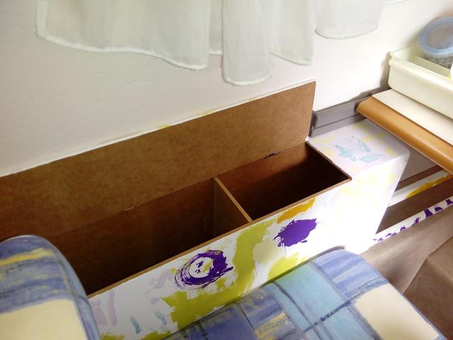 coffre latéral maison à la place du coussin