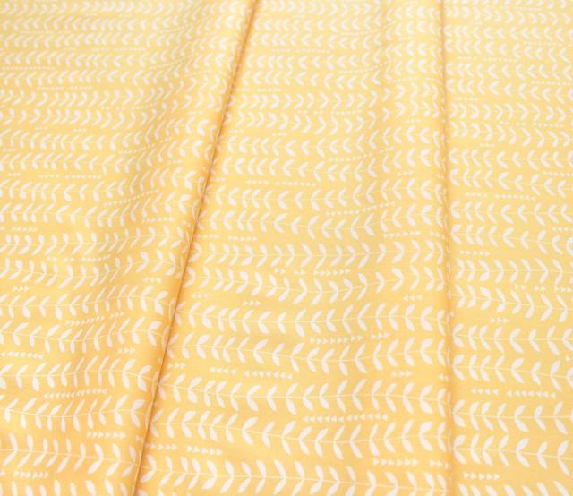 Art Gallery Fabrics Sirena Kelp Sunshine