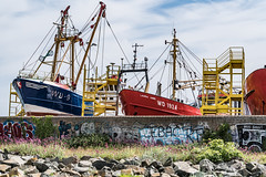 VIEWS OF A BOATYARD IN HOWTH [PHOTOGRAPHED JUNE 2018]-140984