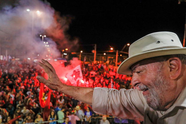 Lula's fellow party members and supporters will hold campaign launch event while Brazil's ex-president is in prison - Créditos: Ricardo Stuckert
