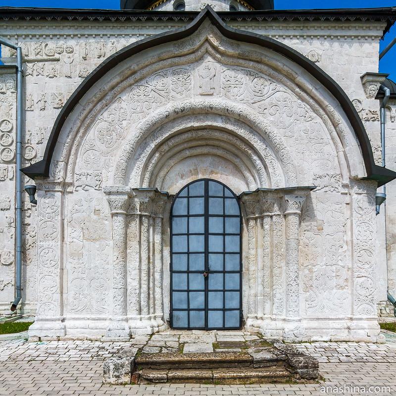 Южный портал Георгиевского собора, Юрьев-Польский