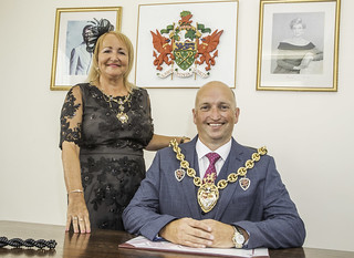 The Mayor for 2018/2019 is Councillor Andy Williams who is accompanied by his Mayoress Mrs Beverley Williams
