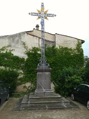 Croix de mission 1870 à Authezat (Puy de Dôme) - Photo of Pignols