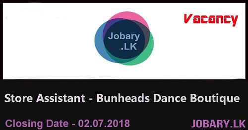 Store Assistant (Female) – Bunheads Dance Boutique